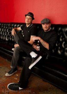Natchet Taylor and Chris Klinck